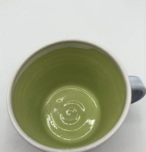 Tankard Mug Green Interior