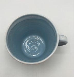 Tankard Mug Blue Interior