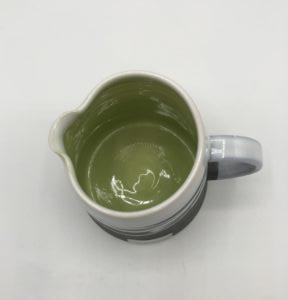 Milk Jug Green Interior