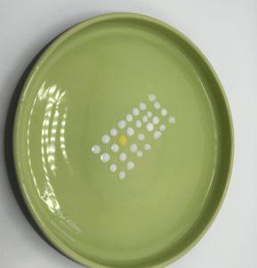 Serving Bowl Green Interior