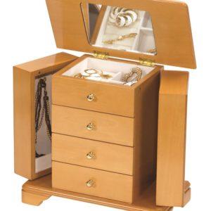 Phillipa Champagne Rose Jewellery Box