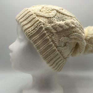 Cotton Blend Beanie Hat
