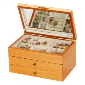 Meagan Oriental Rose Jewellery Box