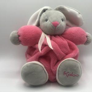 CHUBBY RABBIT Pink & Grey – MEDIUM 25cm