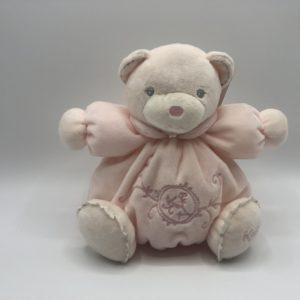 CHUBBY Teddy Bear Pink- Small 18cm