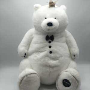 Bear Prince 60cm White & Black