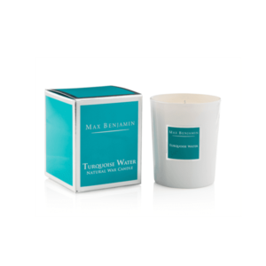 TURQUOISE WATER LUXURY NATURAL CANDLE