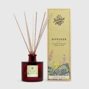 REED DIFFUSER – LAVENDER, ROSEMARY, THYME & MINT