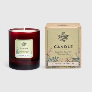 SOY CANDLE – LAVENDER, ROSEMARY, THYME & MINT