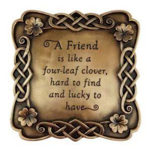 A Friend Saying