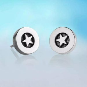 Alan Ardiff Star Earrings