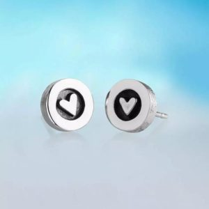 Alan Ardiff Heart Earrings