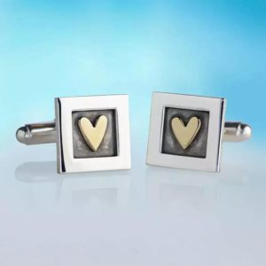 Alan Ardiff Hearts Cufflinks
