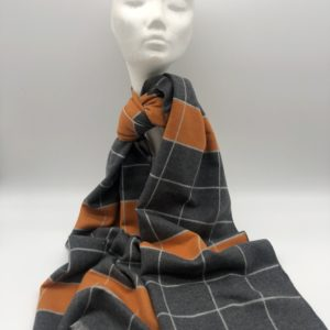 Corona Silver Cahmere Scarf