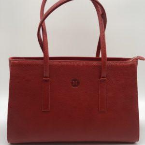 Red Isabel Large Handbag