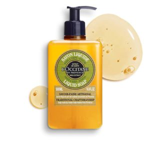 L'occitane Luxury Size Shea Verbena Hands & Body Liquid Soap