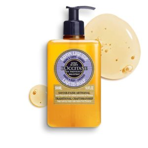 L'occitane Luxury Size Shea Lavender Hands & Body Liquid Soap