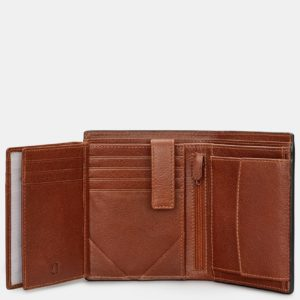 Traditional Extra Capacity Leather Wallet