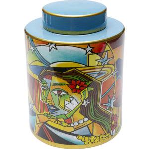 Deco Jar Graffiti Art