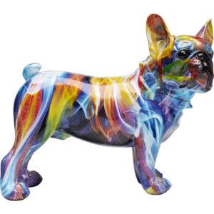 Deco Figurine Frenchie Colorful