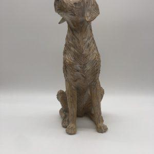 Decorative Etched Dog