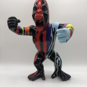 Colourful Godzilla