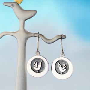 Alan Ardiff Happy as a Lark Earrings