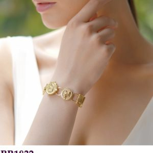 Mixed Coin Bracelet