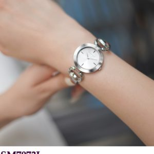 Ladies Watch with Solid Breacelet